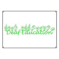 Deaf Education Banner
