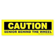 Caution Senior Behind The Wheel (Sticker)