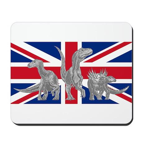 British Dinosaurs Mousepad