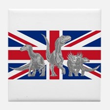 British Dinosaurs Tile Coaster