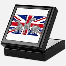 British Dinosaurs Keepsake Box