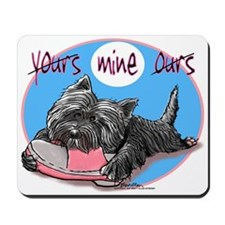 Yours Mine Ours 1 Mousepad
