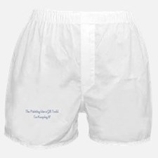 painting was a gift Boxer Shorts