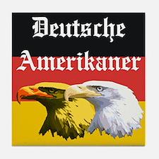 Deutsche Amerikaner Tile Coaster