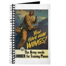 Give Him Wings! Journal