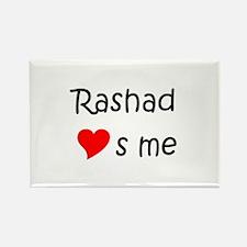 Funny Rashad Rectangle Magnet