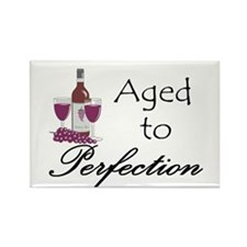 Aged to perfection Rectangle Magnet