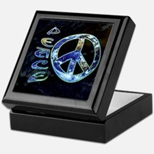 Earth Peace Keepsake Box
