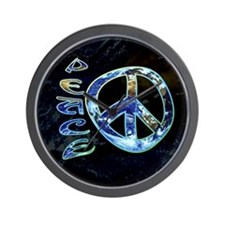 Earth Peace Wall Clock