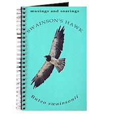 Flying Swainson's hawk Journal