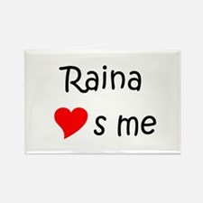 Cool Raina Rectangle Magnet