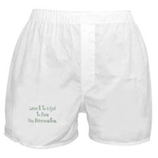 Leave it to a Girl... Boxer Shorts