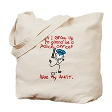 Police Officer Like My Aunt 1 Tote Bag