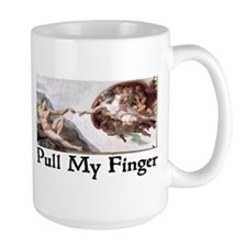 Pull My Finger Mug