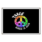 Peace Always in Style Banner