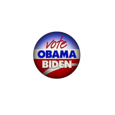 Vote Obama Biden Mini Button (10 pack)