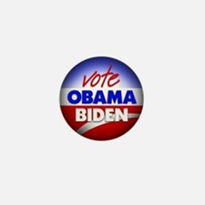 Vote Obama Biden Mini Button