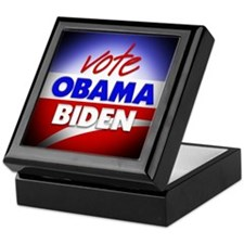 Vote Obama Biden Keepsake Box