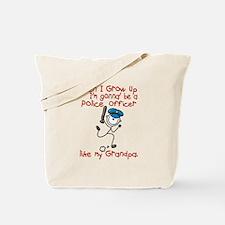 Police Officer Like My Grandpa 1 Tote Bag