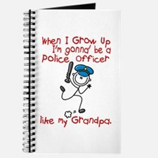 Police Officer Like My Grandpa 1 Journal