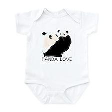 panda mom and cub Infant Bodysuit