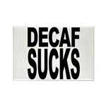 Decaf Sucks Rectangle Magnet