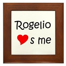Rogelio Framed Tile