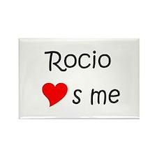 Rocio Rectangle Magnet