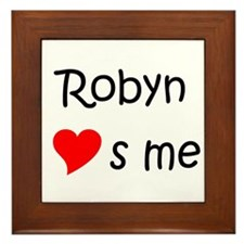 Robyn Framed Tile
