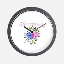 Mommy To Be Wall Clock