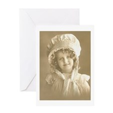 Bonnet Girl Greeting Card