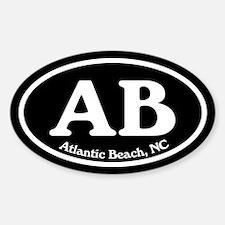 Atlantic Beach AB Euro Oval Oval Decal