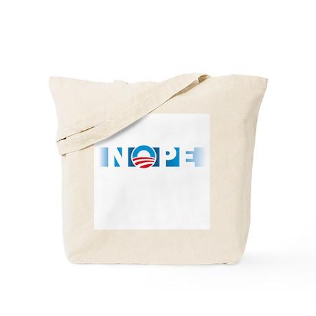 Obama NOPE Tote Bag