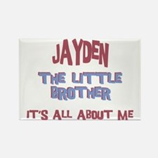 Jayden - All About Brother Rectangle Magnet