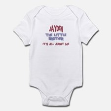 Jayden - All About Brother Infant Bodysuit