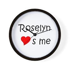 Roselyn Wall Clock