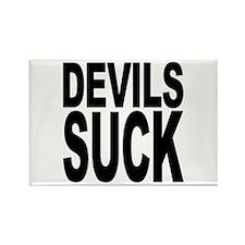 Devils Suck Rectangle Magnet