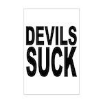 Devils Suck Mini Poster Print