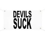 Devils Suck Banner