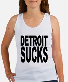 Detroit Sucks Women's Tank Top
