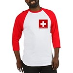 Swiss Cross-2 Baseball Jersey