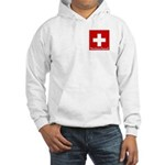 Swiss Cross-2 Hooded Sweatshirt