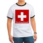 Swiss Cross-2 Ringer T
