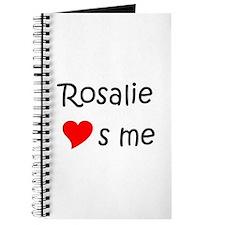 Unique Rosalie Journal