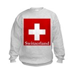 Swiss Cross-2 Kids Sweatshirt