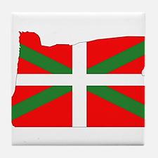 Oregon Basque Tile Coaster