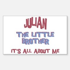 Julian - All About Brother Rectangle Decal