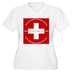 Swiss Cross/Peace T-Shirt