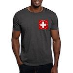 Swiss Cross/Peace Dark T-Shirt