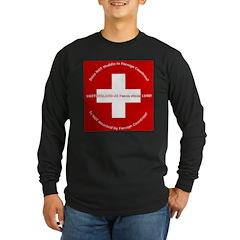 Swiss Cross/Peace T